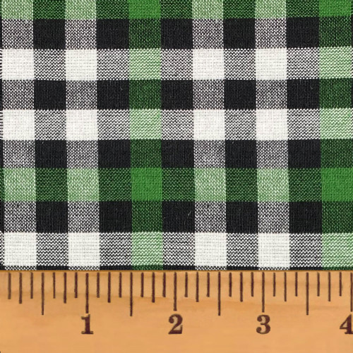 Mountain Lodge 5 Green Plaid Homespun Cotton Fabric