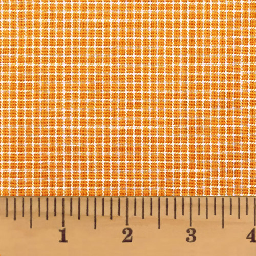 Butterscotch Orange 1 Homespun Cotton Fabric