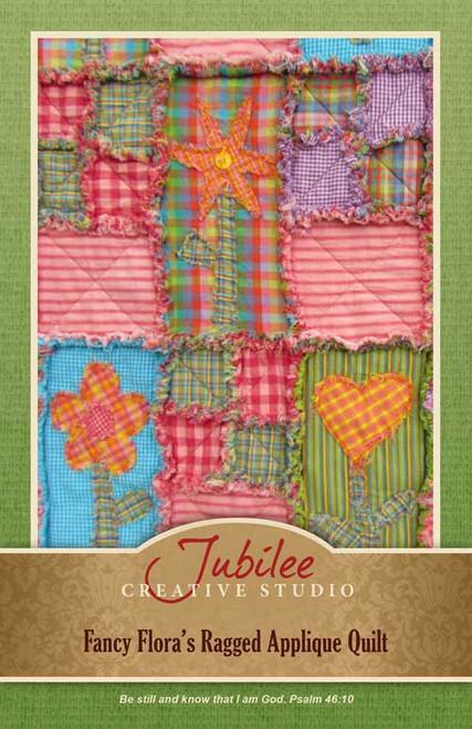 Fancy Flora's Ragged Quilt Pattern - DIGITAL