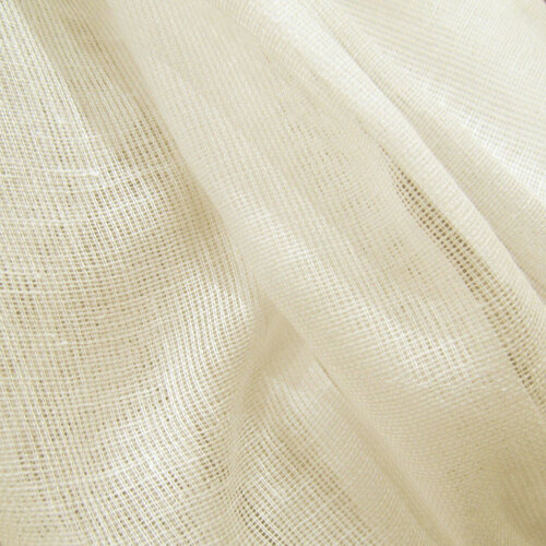 60 Yards  Unbleached Tobacco Cloth Cotton Fabric - Lightweight