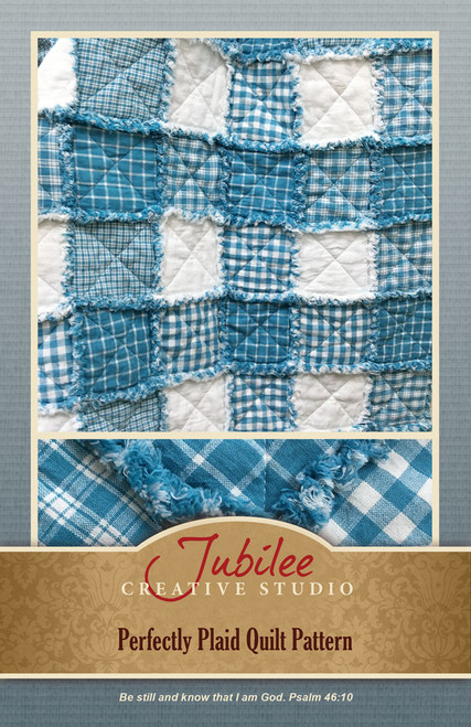 Perfectly Plaid Quilt Pattern - Digital
