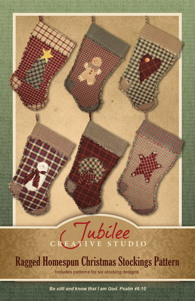 Homespun Christmas Stocking