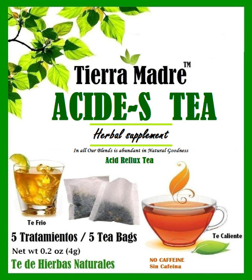 ACIDE-S TEA - ACID REFLUX RELIEF