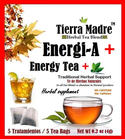 ENERGI-A TEA - ENERGY  HERBAL TEA