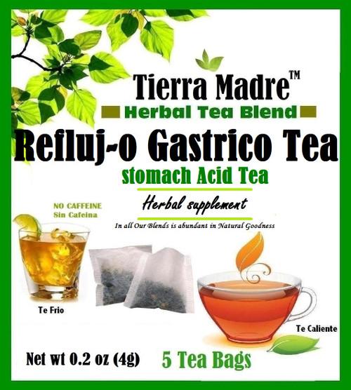 REFLUJO HERBAL TEA - ACID REFLUX