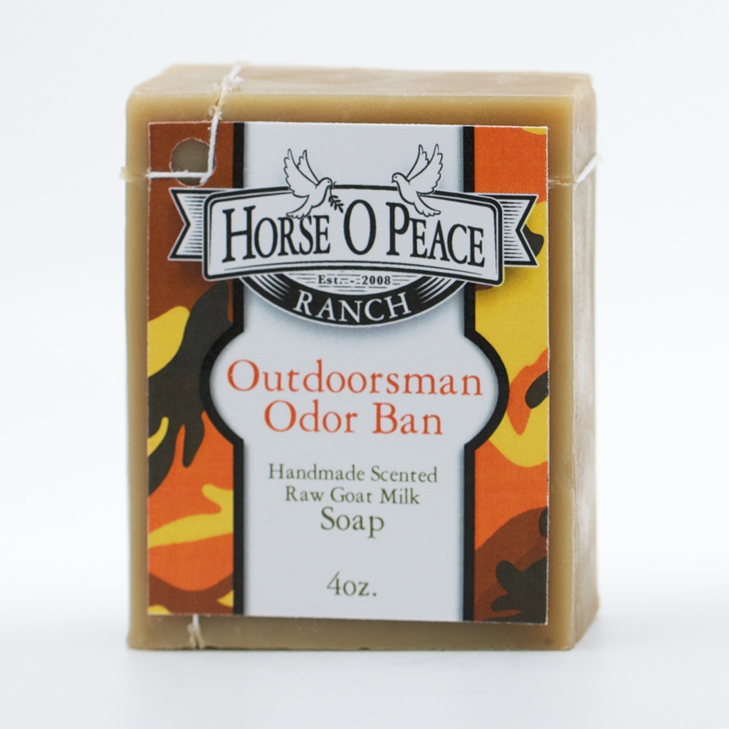 Outdoorsman Odor Ban Goat Milk Soap