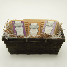 Premium Gift Set with Real Oak Soap Dish