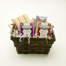 Custom Gift Set with Soap Dish and Sachet