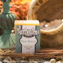 Handmade Goat Milk Soap 100% Raw | Shea Butter Goat Milk Soap | Horse O Peace