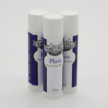 Handmade Plain Lip Balm (3 Pack)| Horse O Peace