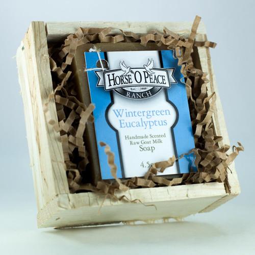 Goat Milk Soap Gift Crate