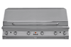 Solaire 56T Grill, Built In, Front View, Hood Down