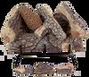 """18"""" Crestline Oak by Rasmussen Gas Logs"""