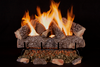 "24"" Crestline Oak by Rasmussen Gas Logs, complete set"
