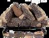 "24"" Crestline Oak by Rasmussen Gas Logs, Grate not included - logs only"