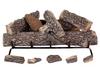 "30"" Crestline Oak by Rasmussen Gas Logs, Grate not included - logs only"