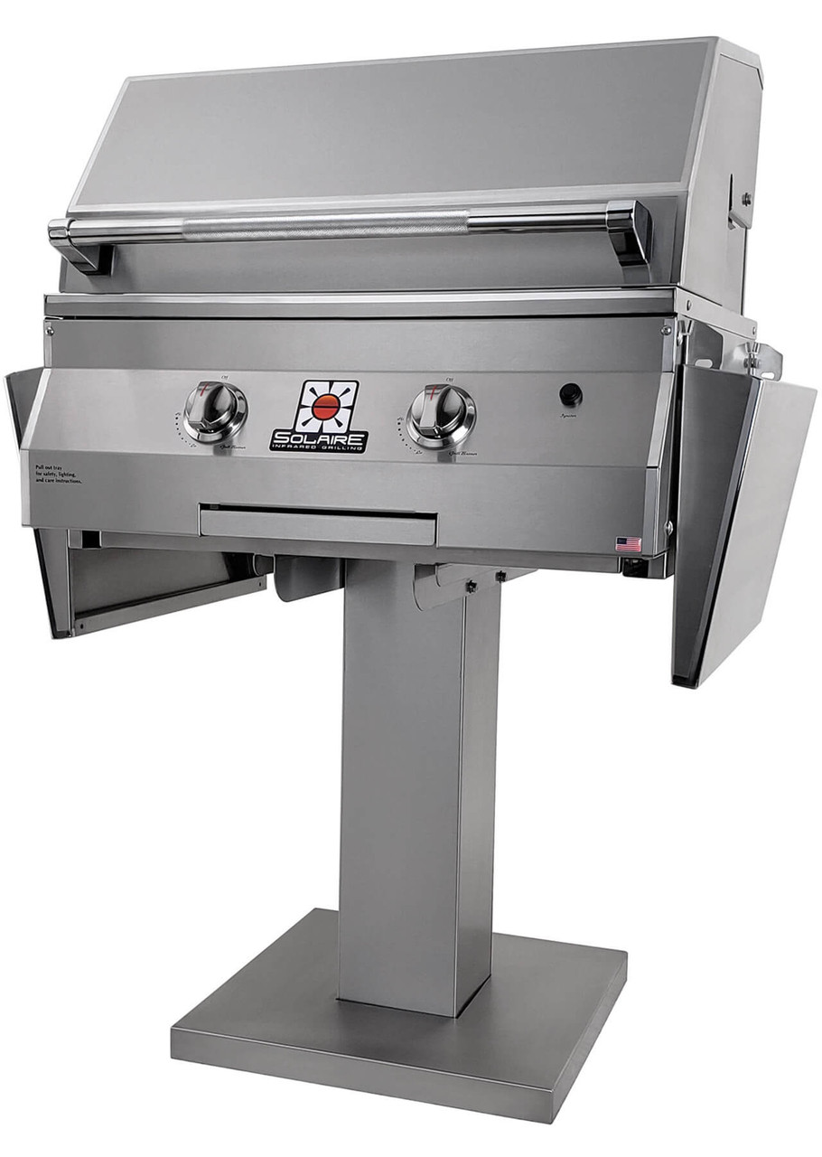 Solaire 27XL Grill, Bolt Down Post, IRBQ