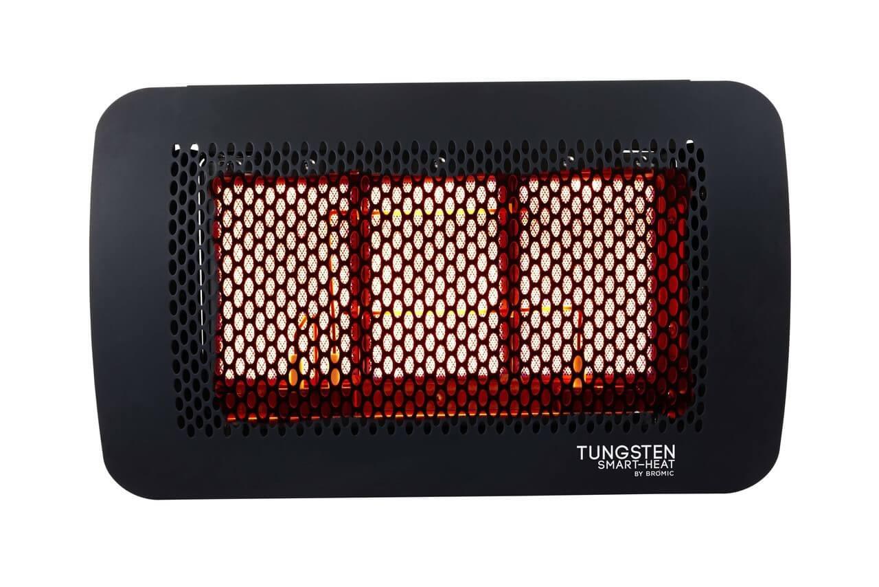 Bromic Tungsten Smart-Heat 3 Burner Radiant Gas Heater, Natural Gas