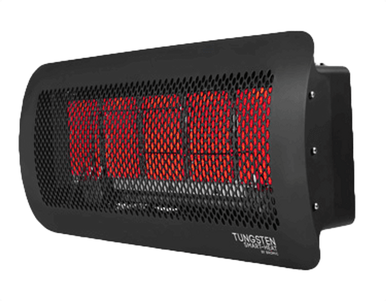 Bromic Tungsten Smart-Heat 5 Burner Radiant Gas Heater, Propane, Quarter Angle