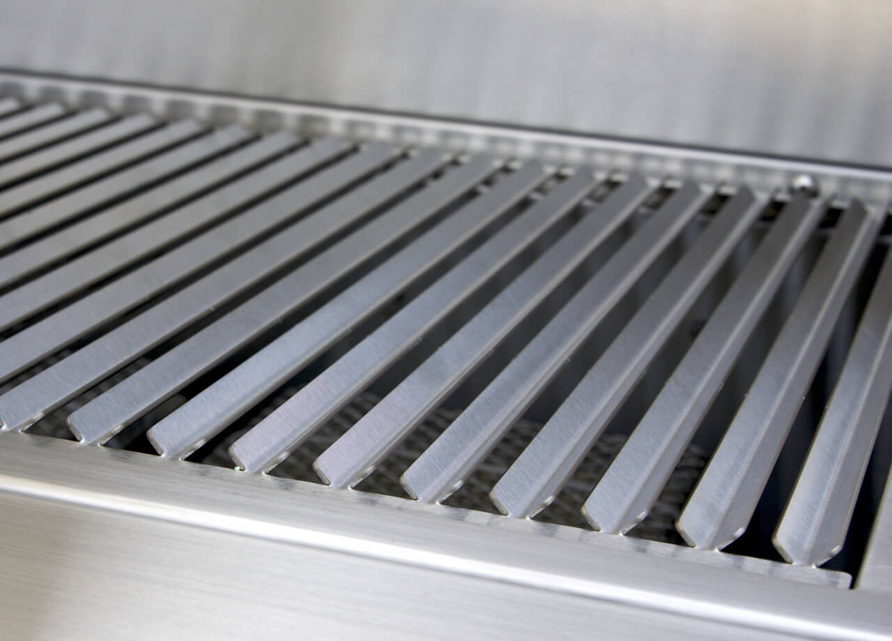 Solaire 56 Inch Grill, Grate Close Up