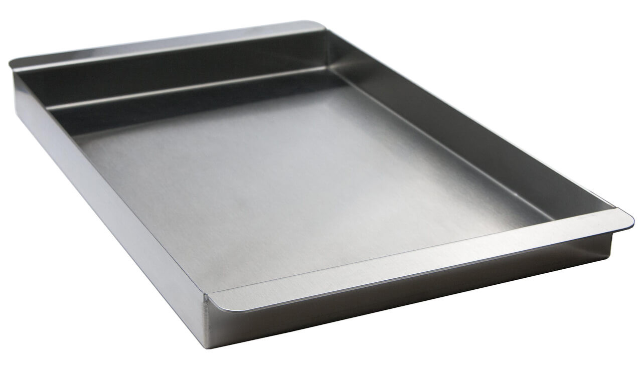 BBQ Tray for 27XL Solaire Grills, Front View