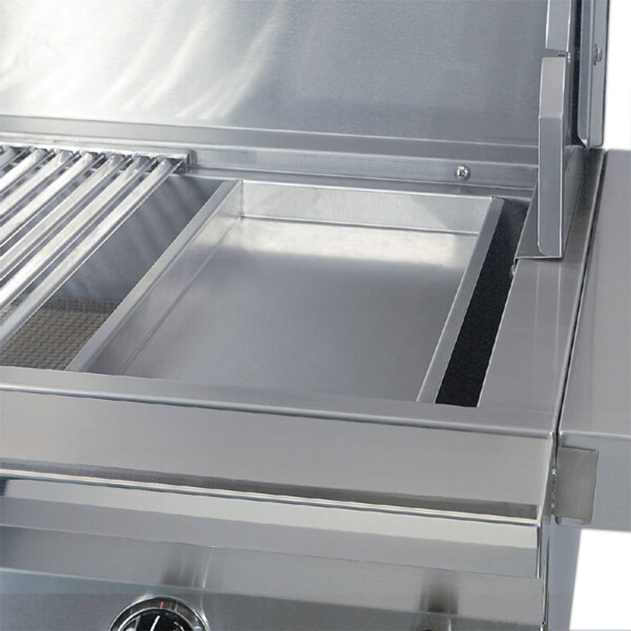 BBQ Tray In grill