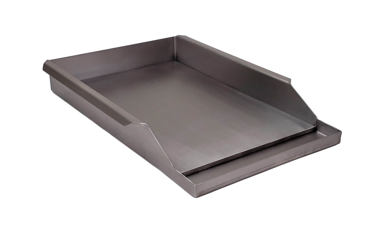 "Griddle Plate for 21"" Solaire Grills side view"