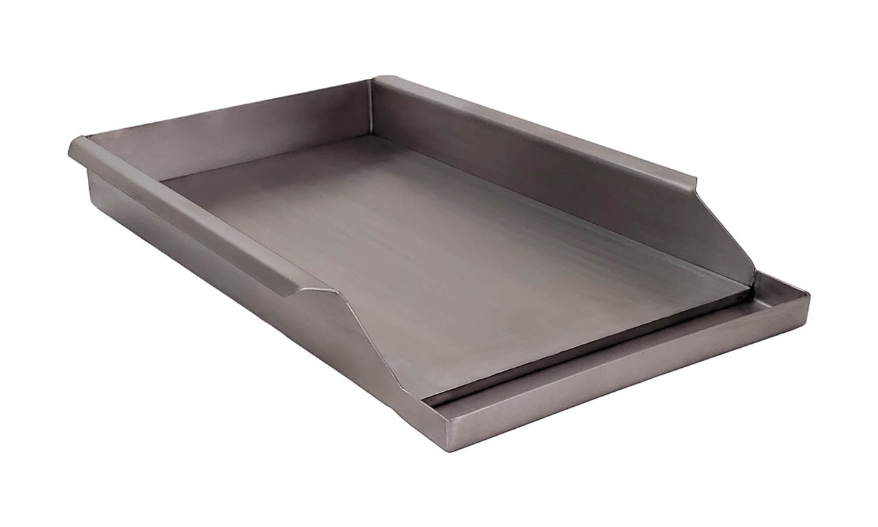 Griddle Plate for 27XL Solaire Grills side view