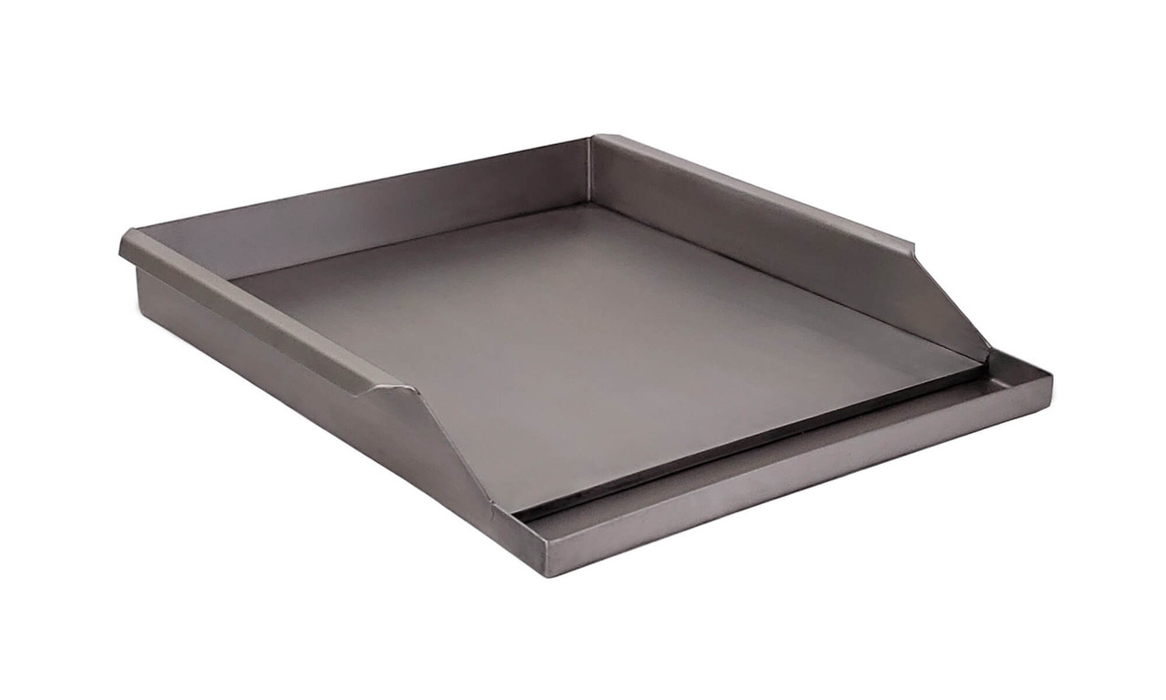 "Griddle Plate for 27"" Solaire Grills side view"