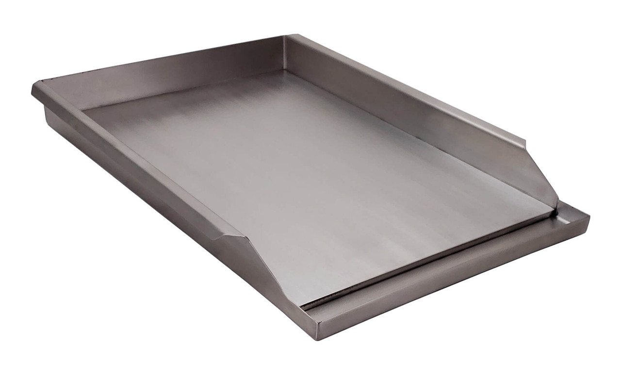 "Griddle Plate for 30"", 36"", 42"", & 56"" Solaire Grills side view"