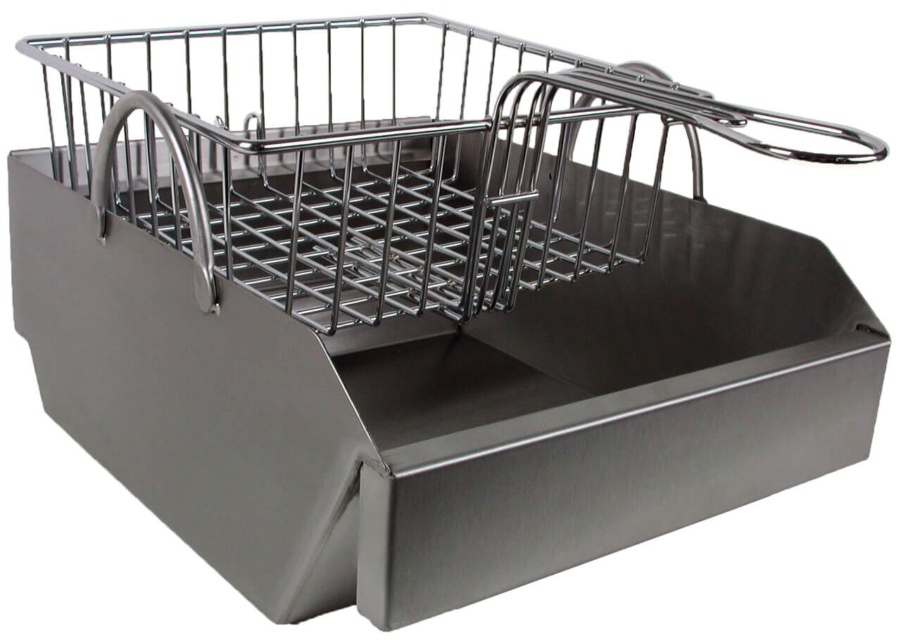 Steamer/Fryer for 27 Inch Solaire Grills