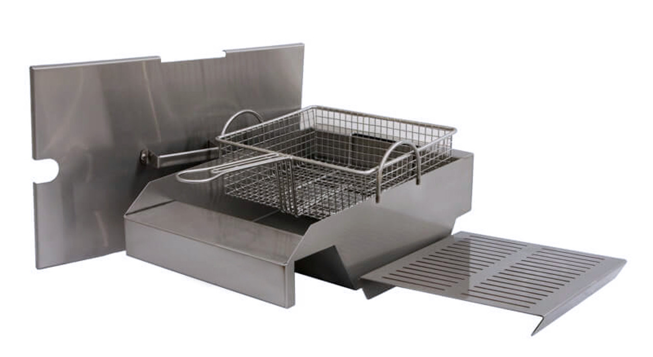 """Steamer/Fryer for 30"""", 36"""", 42"""" and 56"""" Solaire Grills"""