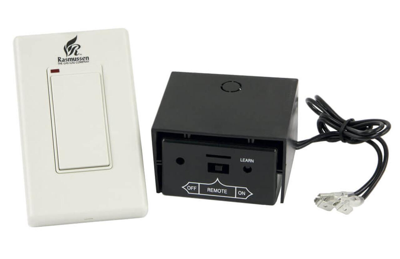 Rasmussen Wireless Millivolt Wall Switch, Item #WS-MV1