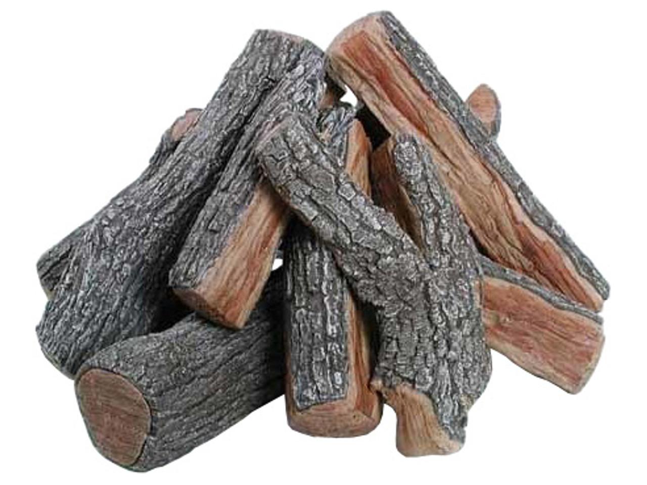 FP36B Rasmussen Fire Pit Bark/Split Logs