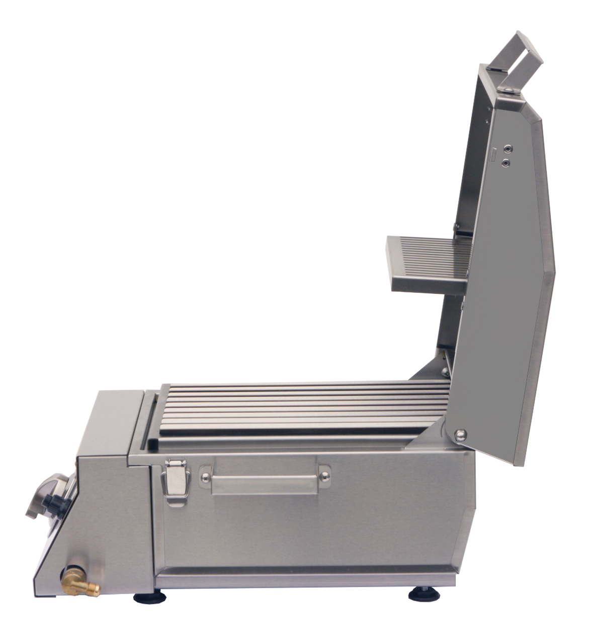 Refurbished Demo Grill, Solaire AllAbout, side hood up