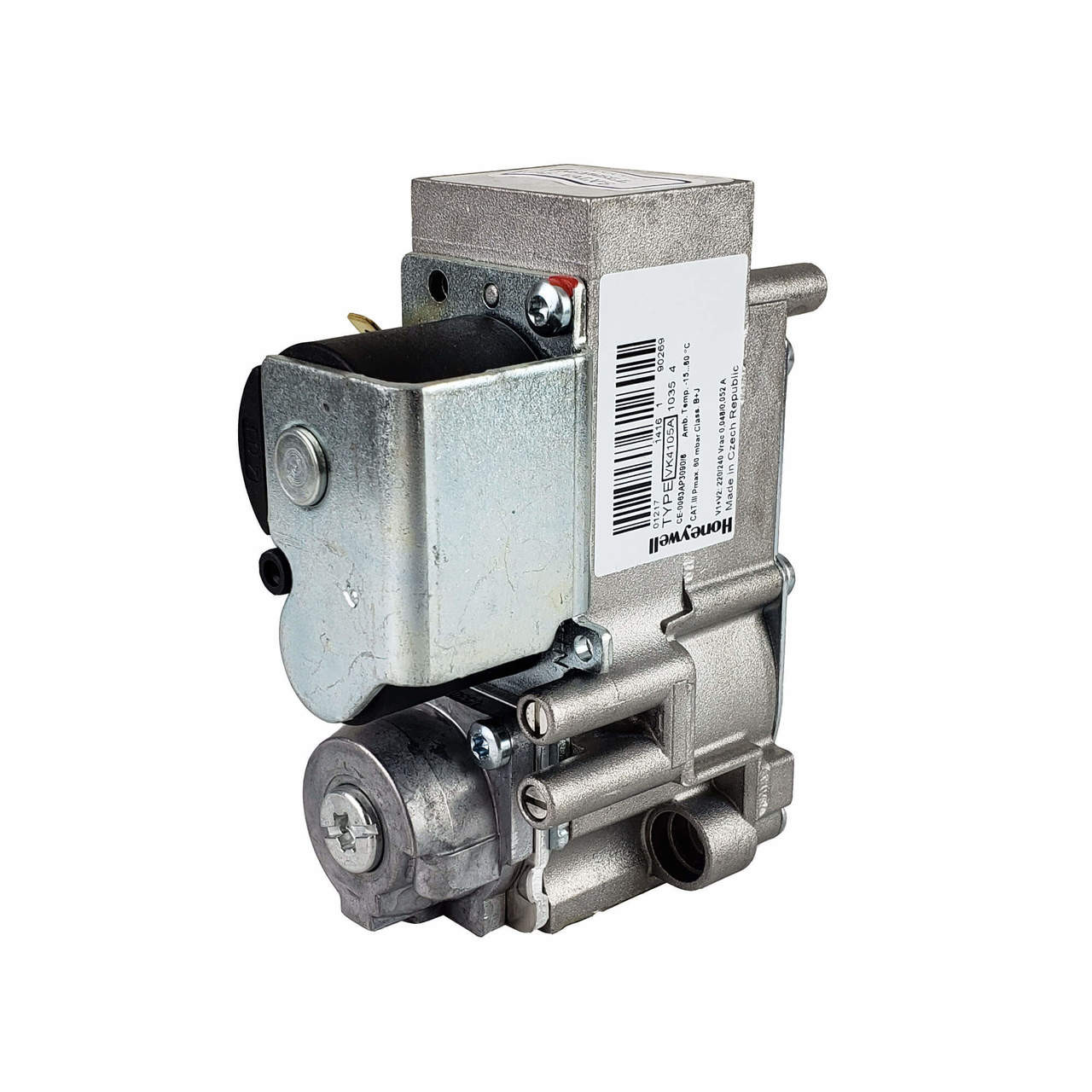 Bromic gas valve opposite side view