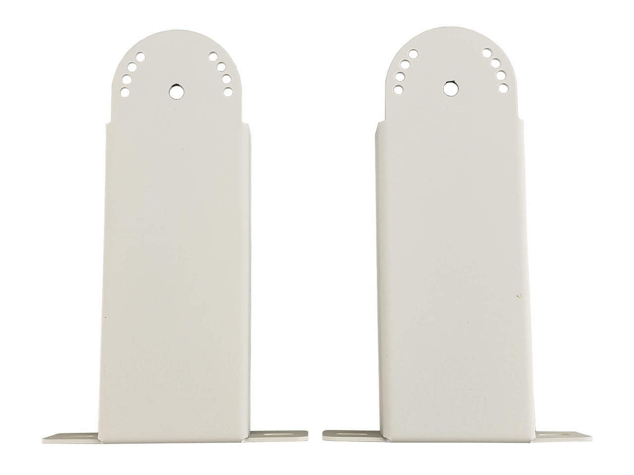 Bromic short mounting bracket pair for white tungsten electric heaters