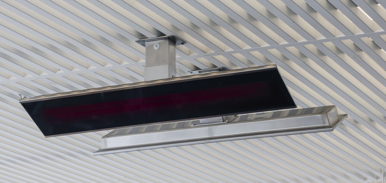 Bromic Platinum Electric Heater Ceiling Mounted