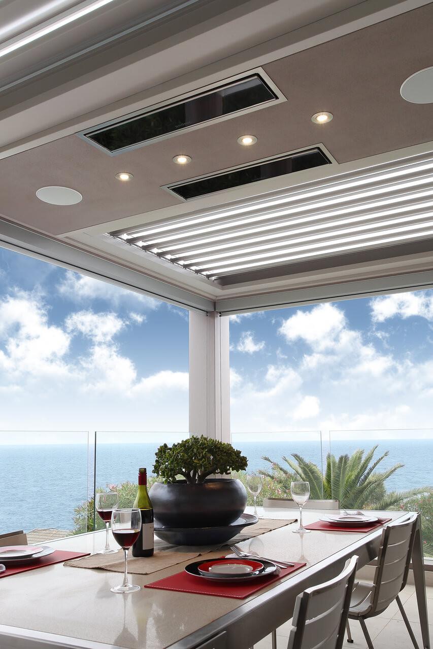 Bromic Platinum Smart-Heat Electric Heater, Installed Recessed