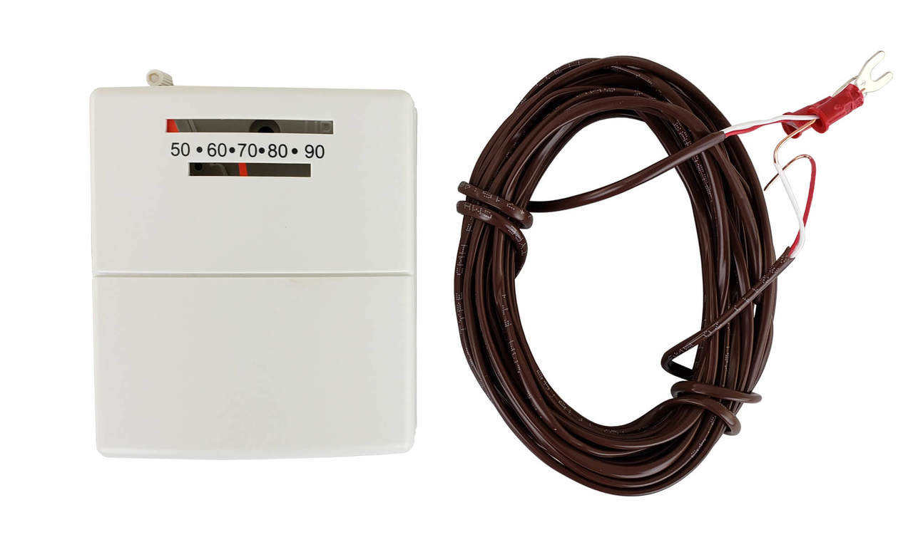 Wired Wall Thermostat for Rasmussen Gas Log Sets, TS-1