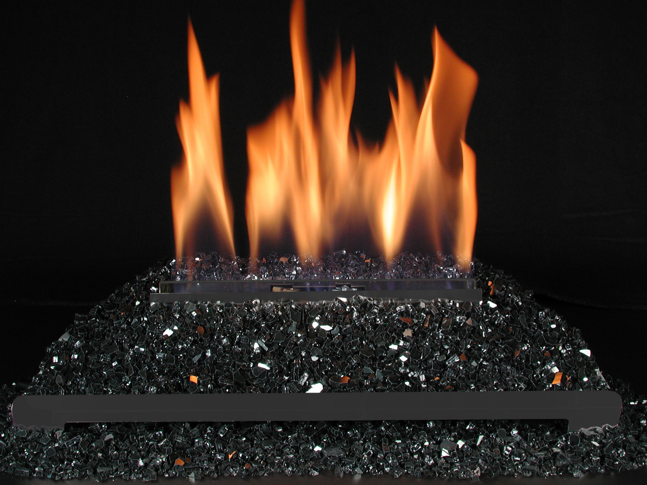 Alterna FireGlitter Black Glass