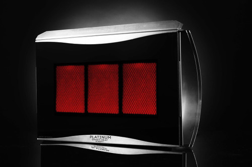Bromic Platinum 300 Gas Heater, Natural Gas