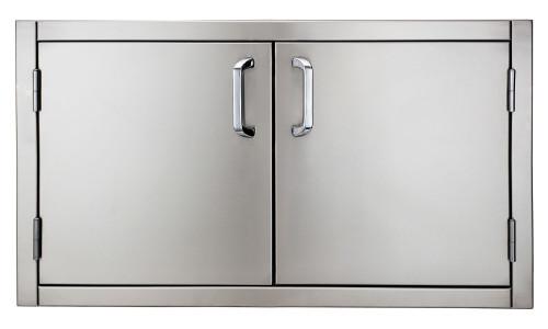 """Solaire 36"""" Flush Mount Double Doors, Item #SOL-FMD-36"""