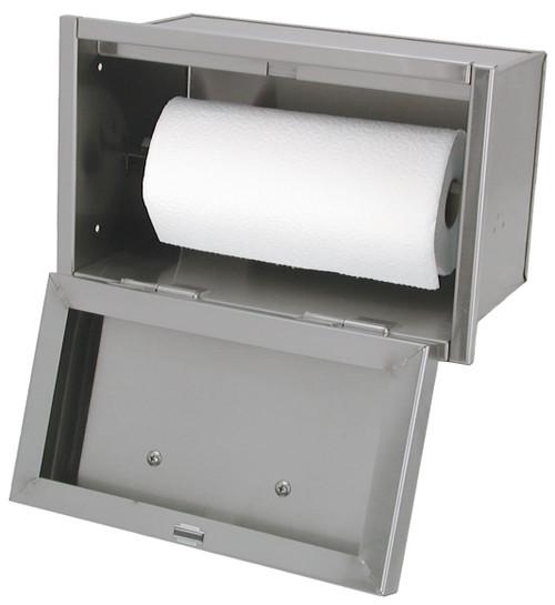 Paper Towel Holder for Built-In Islands