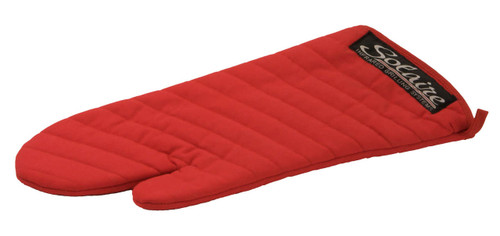 Solaire Red Grilling Mitt