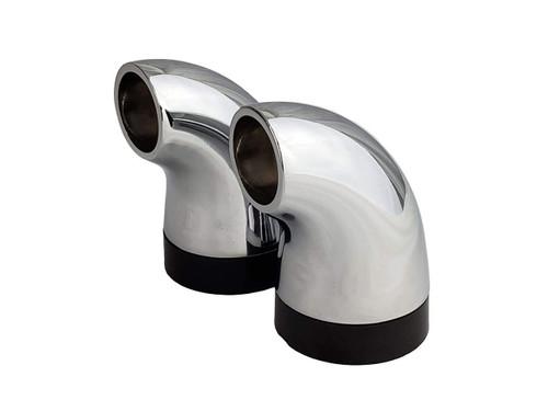 Hood Handle Bracket & Insulator - 30, 36, 42, 56, 56T, Front View