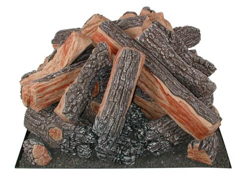 FP33SQB Rasmussen Fire Pit Bark/Split Logs