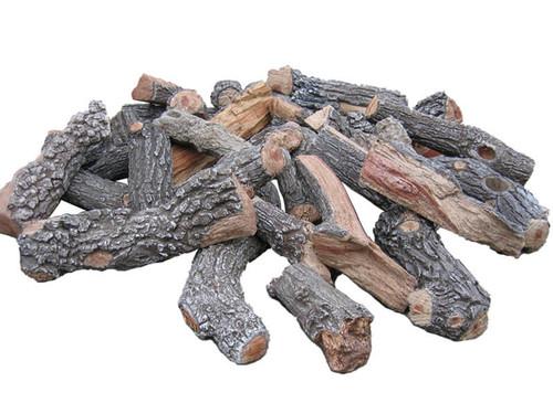 FP48F FirePit Bark/Split Logs