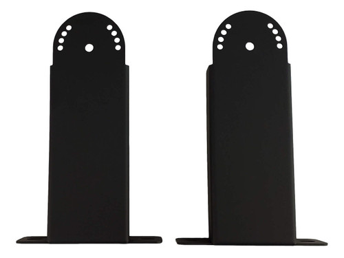 Bromic short mounting bracket pair for black tungsten electric heaters