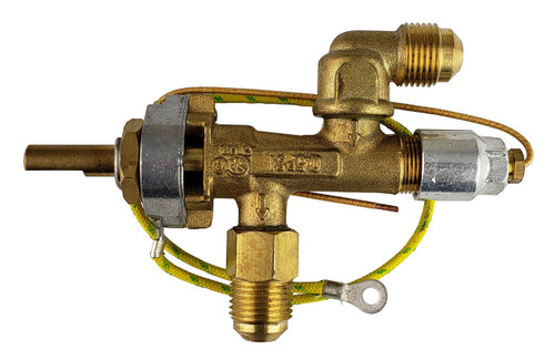 Gas valve for portable Bromic heaters
